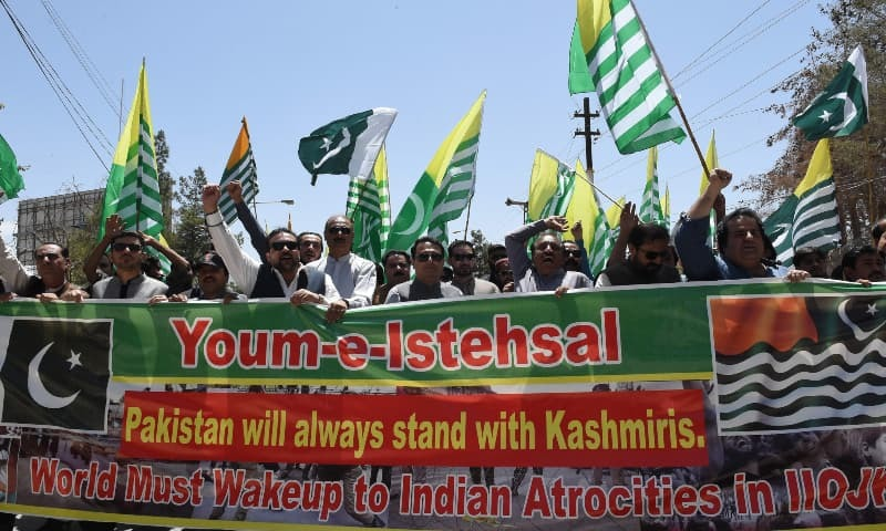 'Unimaginable savagery': Govt, opposition denounce Indian annexation of Kashmir with one voice