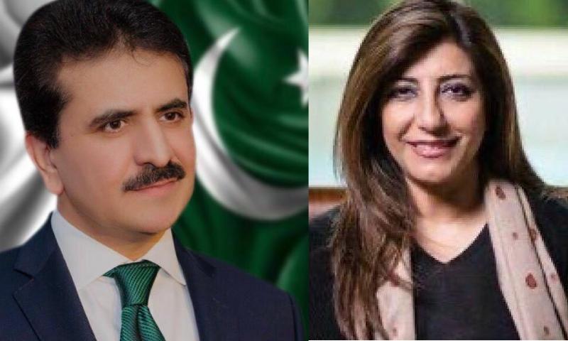 عائشہ فاروقی کی جگہ زاہد حفیظ چوہدری ترجمان دفتر خارجہ تعینات