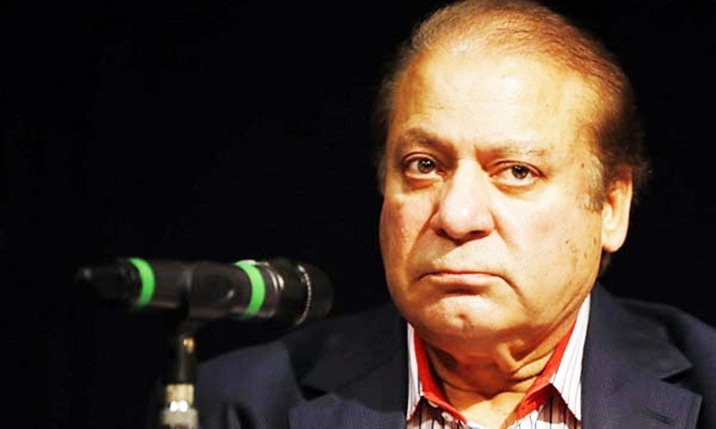 The prosecutor submitted a report about non-service of court's summons to Nawaz Sharif at his Lahore address. — AFP or licensors