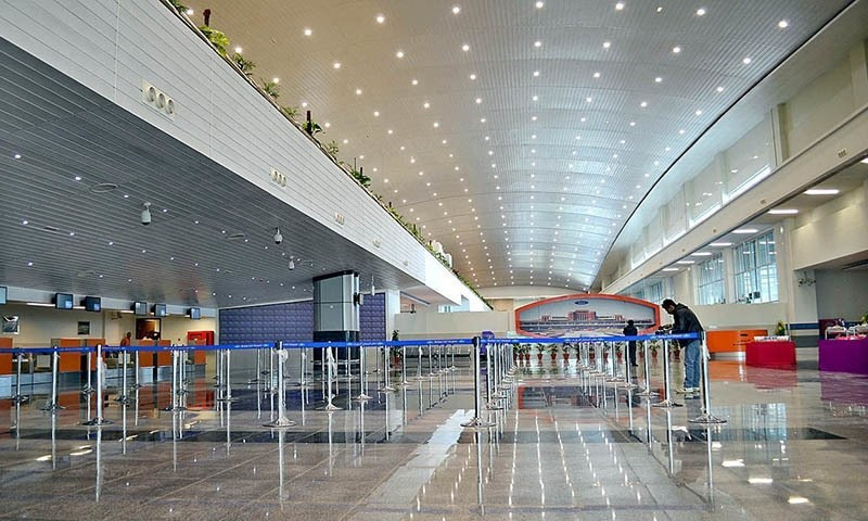 All airports allowed to handle domestic flight operations