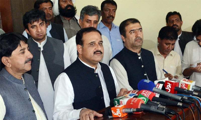 "PPP leader says NAB is trying to prove Punjab CM Usman Buzdar as a ""liquor seller"" instead of holding him accountable for 'mega corruption'. — Online/File"