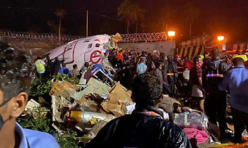 طیارے میں عملے سمیت 191 افراد سوار تھے—فائل/فوٹو:بشکریہ ٹائمز آف انڈیا