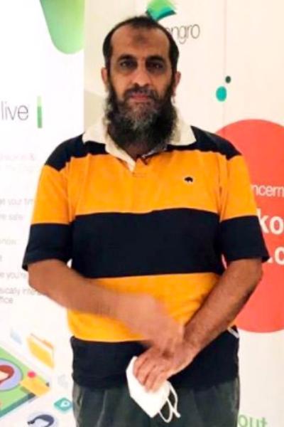 Hanif Majeed, Senior volunteer at Orange Tree Foundation