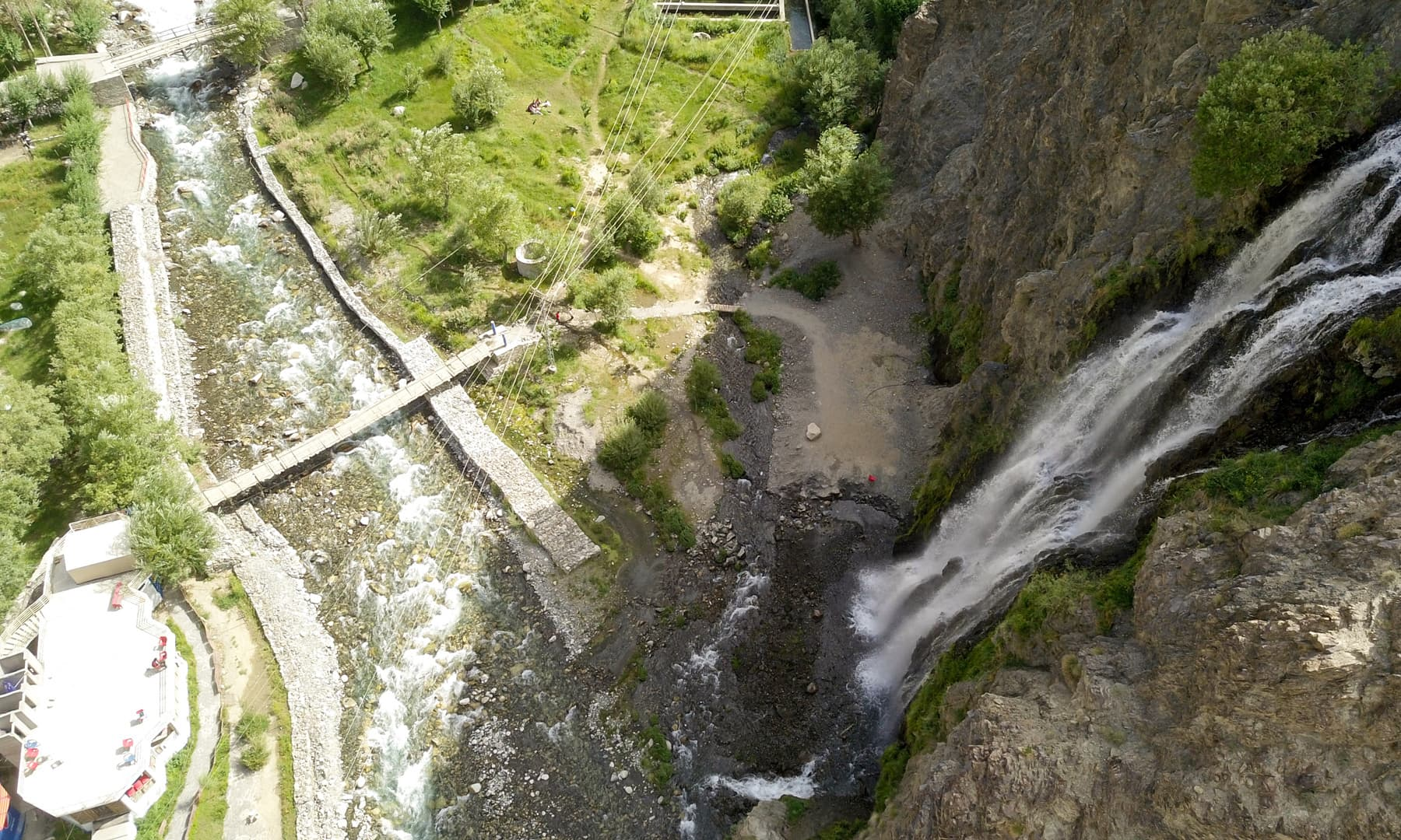 منٹھو کھا آبشار