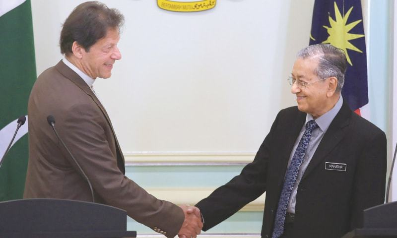 "Dr Mahathir said now when he was no longer prime minister of his country, ""I can now speak without restrain and address the Kashmir issue without threats of boycotts and such"". — Reuters/File"
