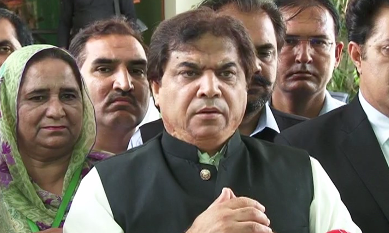 The NAB in a call-up notice to Abbasi asked him to appear before a combined investigation team at its Thokar Niazbaig office to record his statement. — File photo