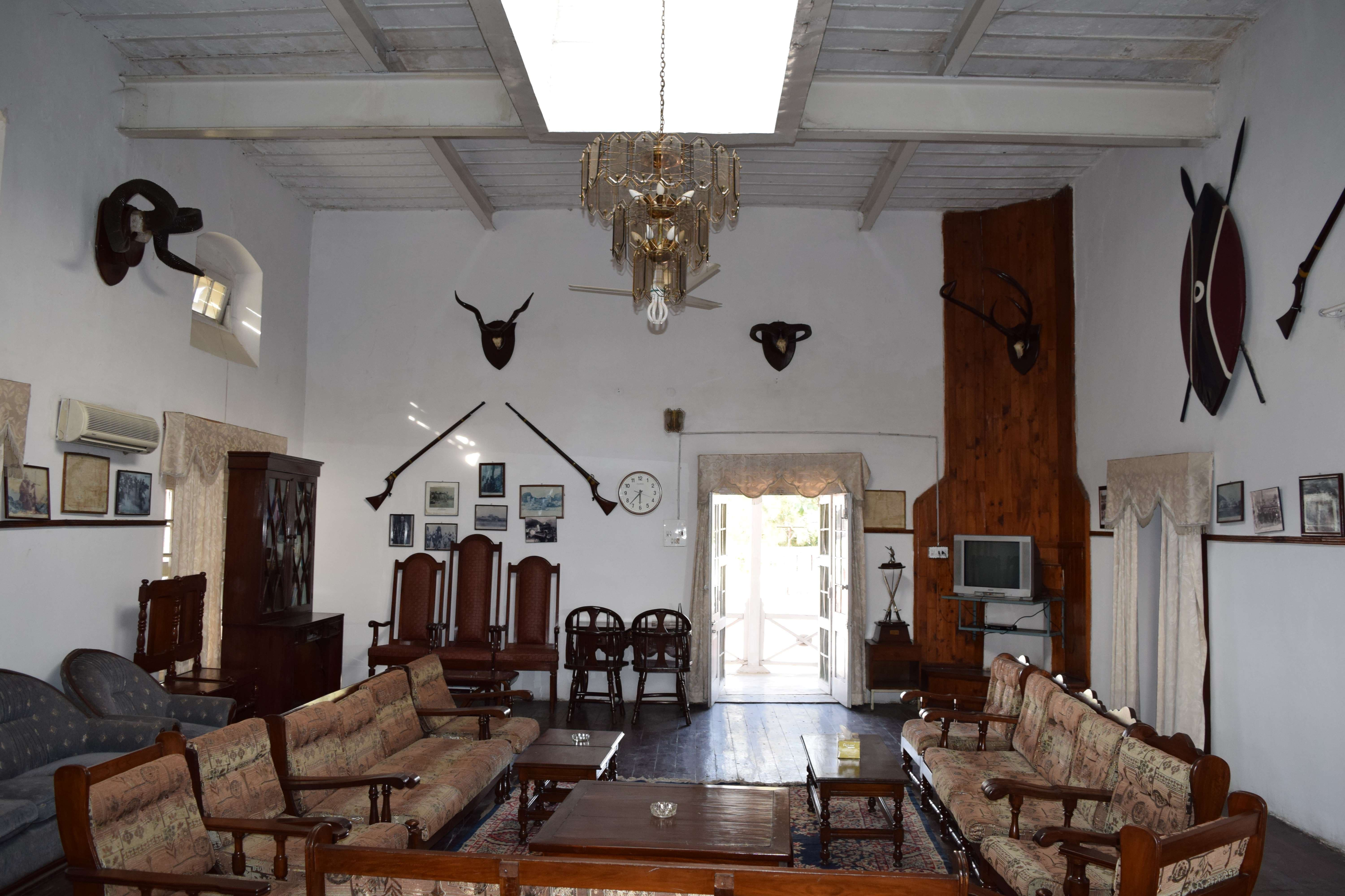 FC officers' mess.