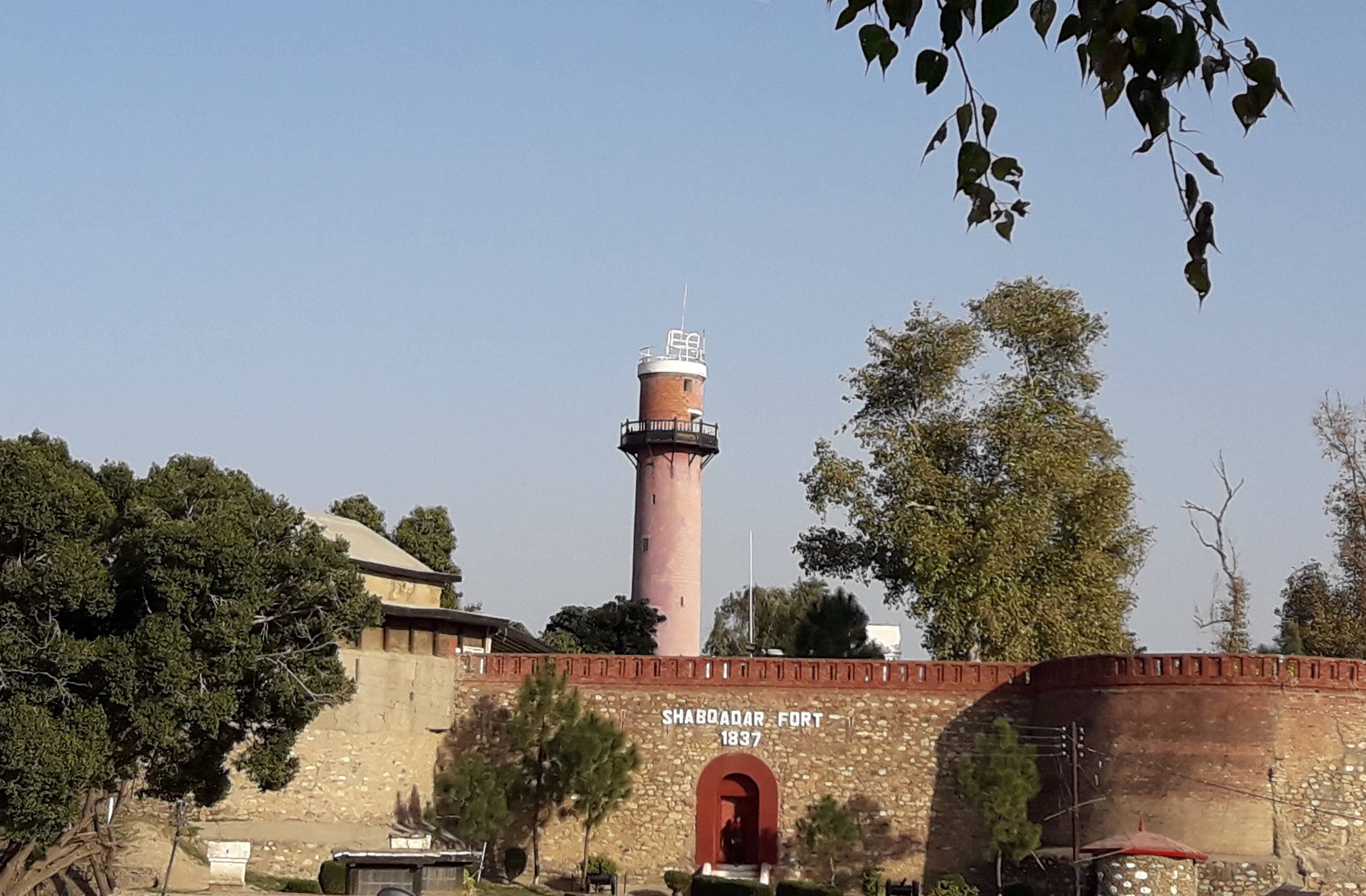 The 1837 Shabqadar Fort is a witness history spanning almost 200 years — from being ruled by the Sikhs to the British and now Muslims.