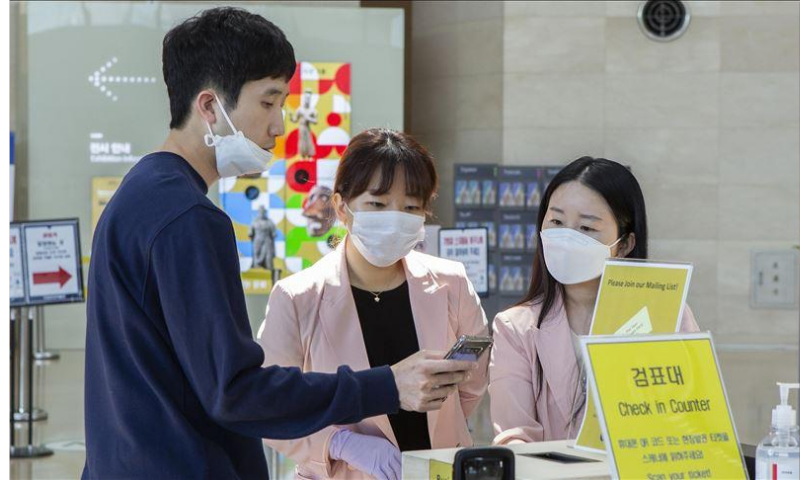 The country's Korea Centres for Disease Control and Prevention said that imported cases rebounded to double digits on Monday after being reported in single digits for 43 consecutive days. — Anadolu Agency