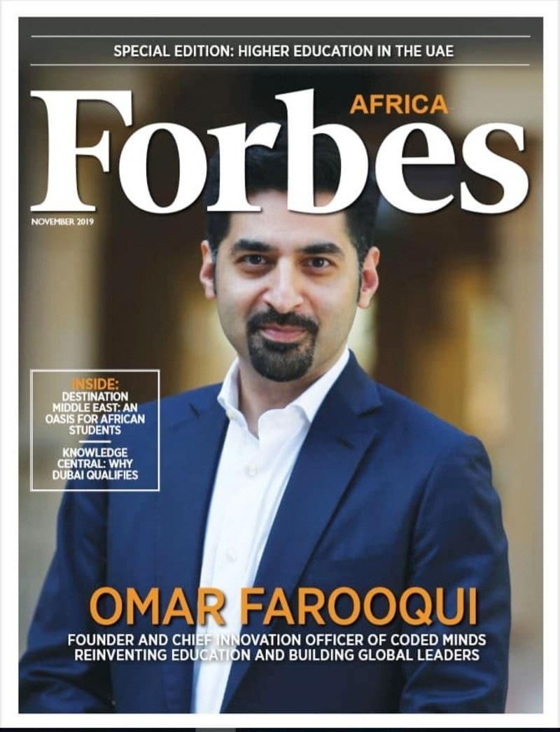 عمر فاروقی اپنی کمپنی بنانے سے قبل مختلف امریکی و مشرق وسطیٰ کمپنیوں میں خدمات سر انجام دیتے رہے—اسکرین شاٹ فوربز