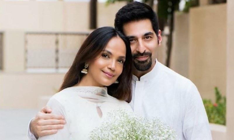 محب مرزا کی سابق اہلیہ آمنہ شیخ نے طلاق کے چند ماہ بعد ہی شادی کرلی تھی—فائل فوٹو: انسٹاگرام