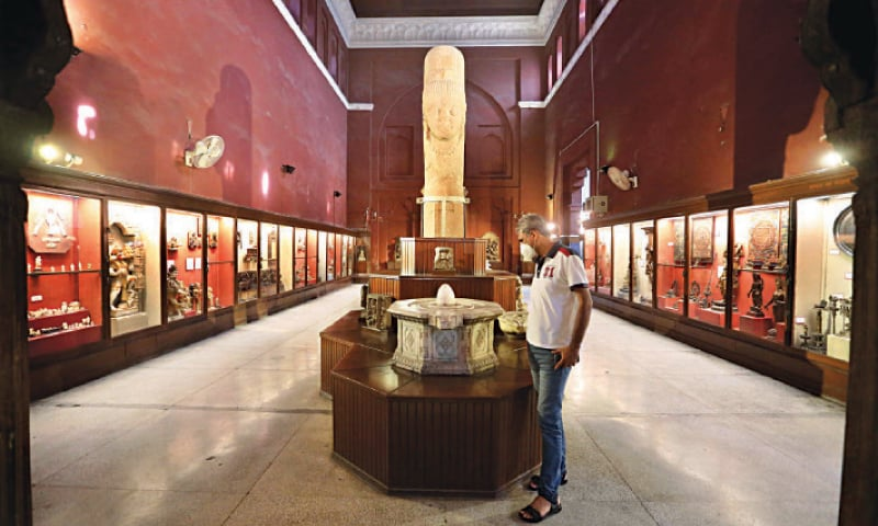 Lahore Museum opened to public on Monday. — White Star