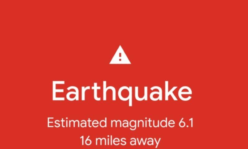 ہر اینڈرائیڈ فون اب زلزلے کی پیشگوئی میں مدد کرسکے گا