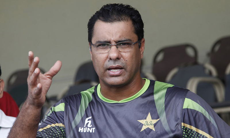 Pakistan assistant coach Waqar Younis. — PCB/File