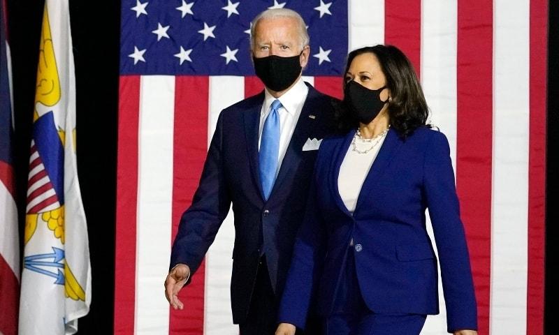 جو بائیڈن اور نائب صدر کمالا ہیرس کو ڈونلڈ ٹرمپ کے فیصلوں سے پیچھے ہٹنا مشکل ثابت ہوسکتا ہے