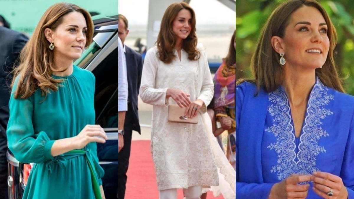 Middleton really put the spotlight on local brands during her Pakistan trip last year
