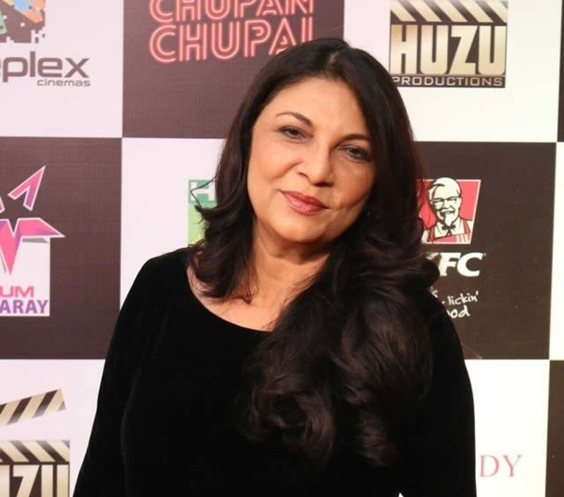 اداکارہ سکینہ سموں کو بھی صدارتی تمغہ برائے حسن کارکردگی ایوارڈ سے نوازا جائے گا—فائل فوٹو: فیس بک