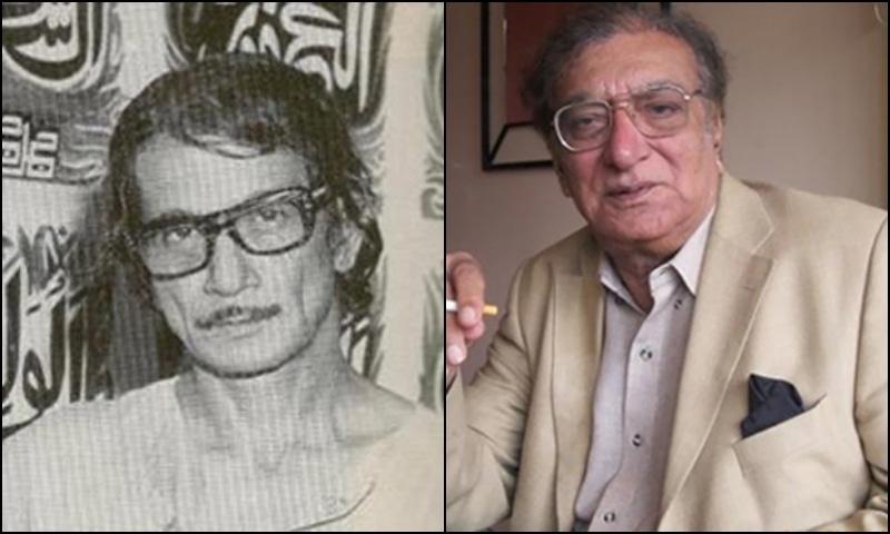 Renowned painter Sadequain (L) and poet Ahmed Faraz are among the three to receive Nishan-i-Imtiaz. — Photo courtesy Wikipedia/Dawn