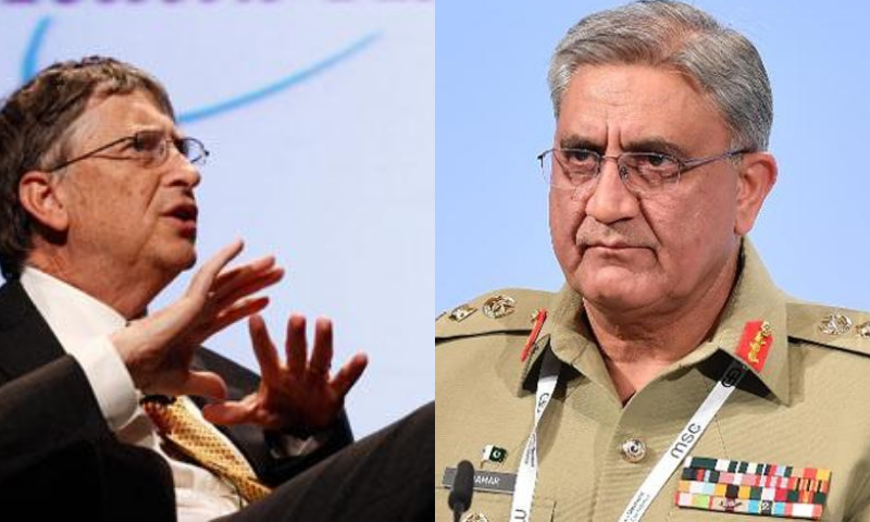 Gen Bajwa and  Gates also discussed the safe resumption of polio campaign and efforts needed to effectively conduct it under Covid-19 environment. — Reuters/File