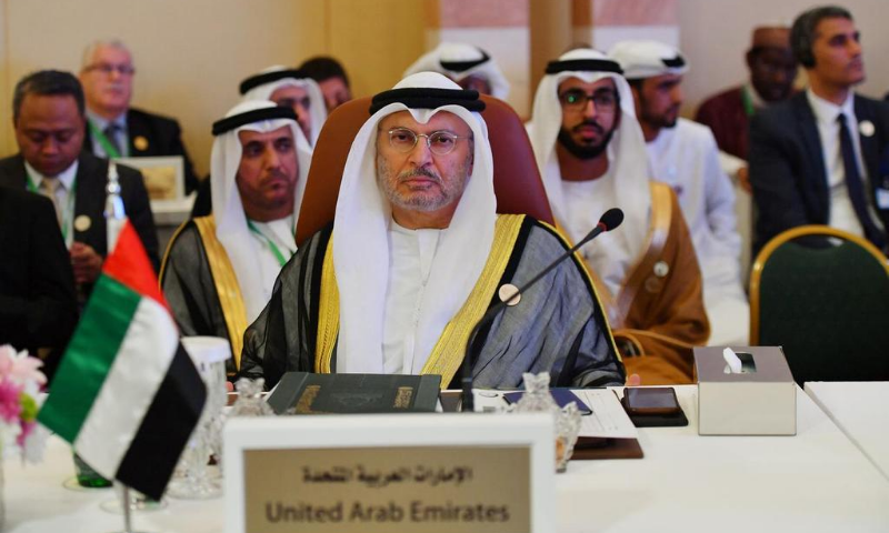 """""""The UAE-Israeli peace treaty is a sovereign decision not directed at Iran. We say this and repeat it. We do not accept interference in our decisions,"""" Gargash said. — Reuters/File"""