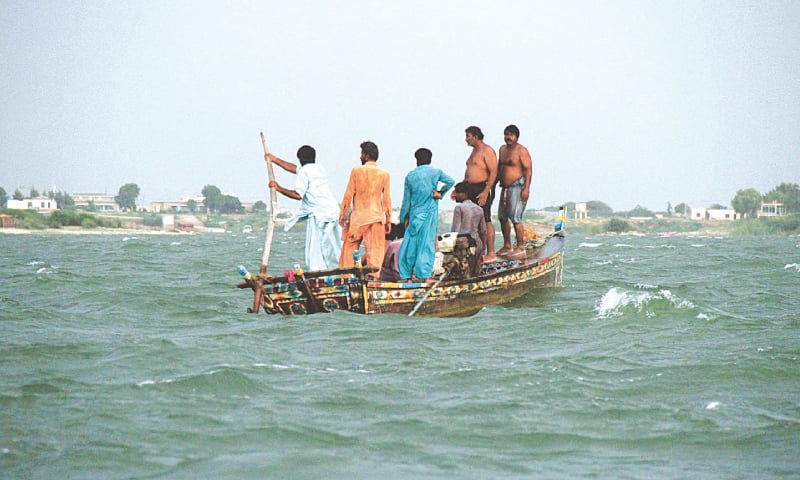 Pakistani family members die as over crowded boat capsizes in Keenjhar Lake
