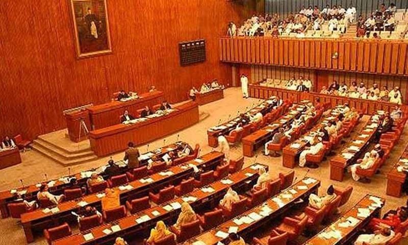 The Senate passed the Anti-Terrorism (Amendment) Bill, 2020, amid noisy protest by senators mostly from Balochistan and Khyber Pakhtunkhwa. — APP/File