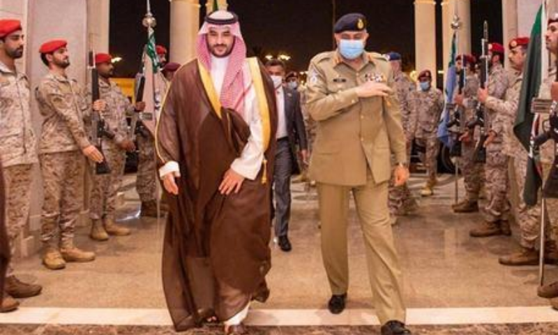 Bajwa, Saudi deputy defence minister discuss security issues