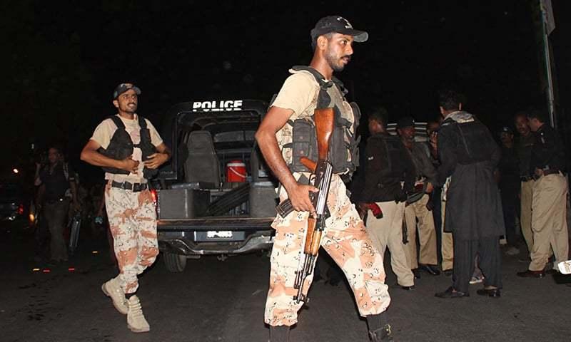 کراچی: افغانستان سے 'دہشگردی' کیلئے آئے 2 عسکریت پسند 'مقابلے' میں ہلاک