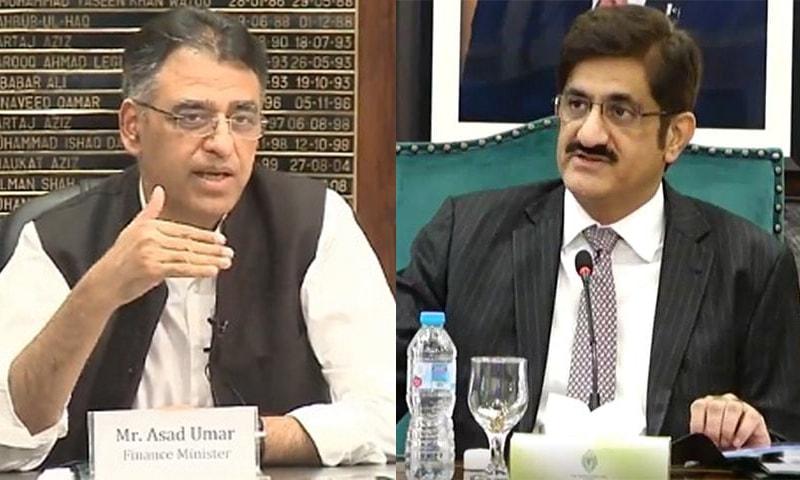 وفاق اور سندھ کے درمیان رابطہ کمیٹی بنانے پر اتفاق