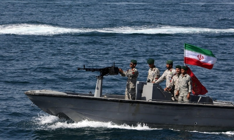 Iran claims its coastguard seized UAE ship and crew