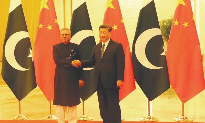 سی پیک دونوں ممالک کے مشترکہ مستقبل کا اہم منصوبہ ہے، چینی صدر