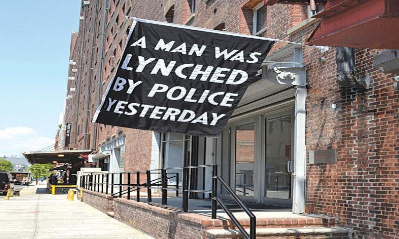A Man Was Lynched Yesterday (2015), Dread Scott