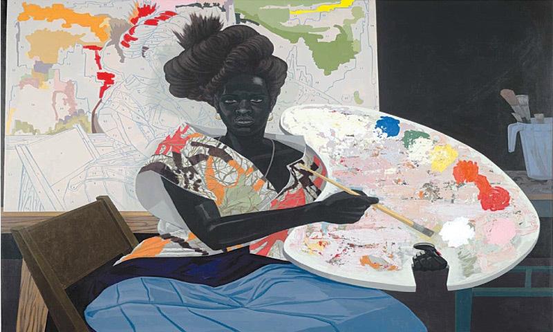 Untitled (2009), Kerry James Marshall