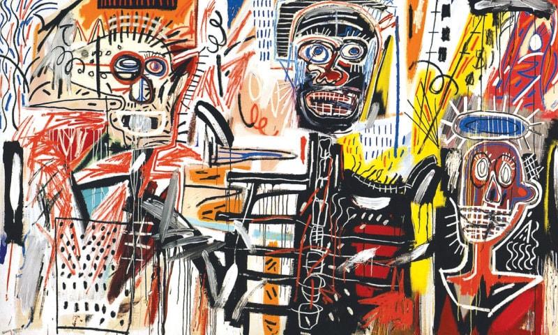 Philistines (1982), Jean Michel Basquiat