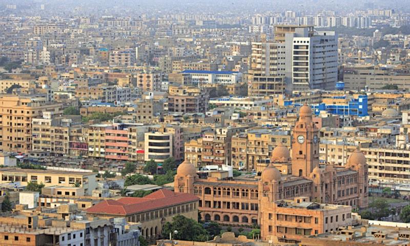 Aerial view of Karachi | File photo