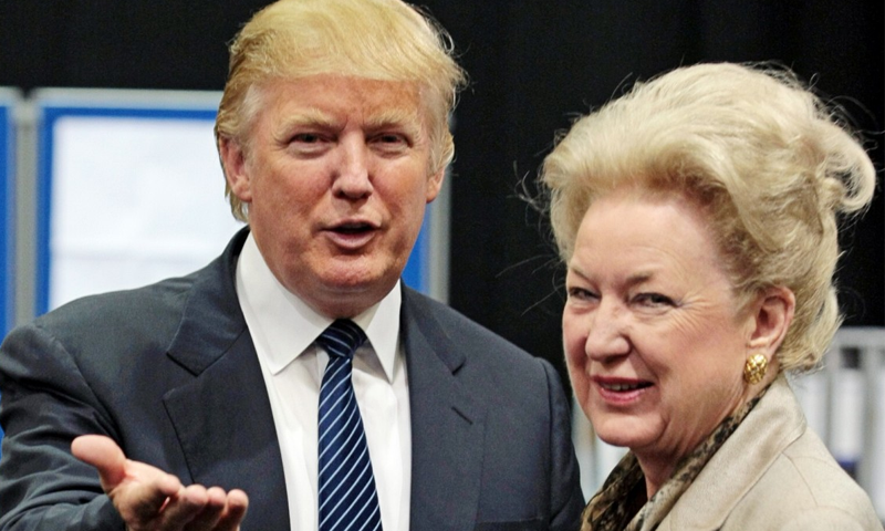 ٹرمپ کی بڑی بہن نے بھائی کو 'جھوٹا اور بے اصول شخص' قرار دے دیا