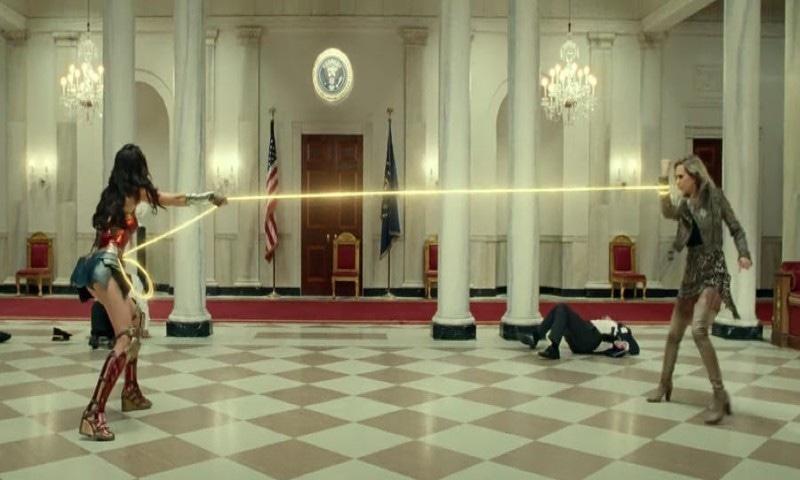 سپر ہیرو فلم 'ونڈر وومن 1984' کو اکتوبر میں ریلیز کرنے کا اعلان