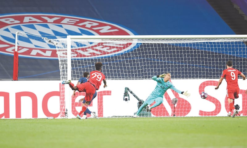 Steely Bayern edge PSG to become European champions for sixth time