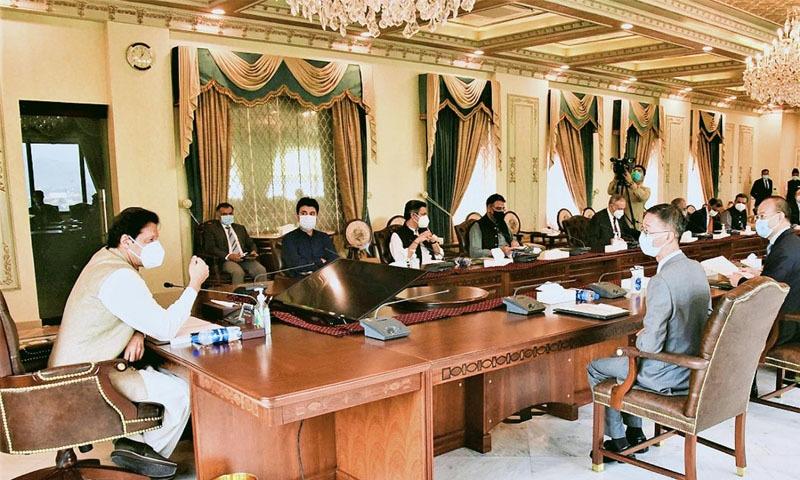 وزیراعظم کا چین کے کاروباری افراد پر پاکستان میں علاقائی دفاتر قائم کرنے کیلئے زور