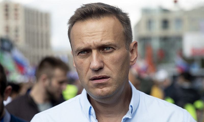 In this Saturday, July 20, 2019, file photo, Russian opposition leader Alexei Navalny attends a protest in Moscow, Russia. — AP/File
