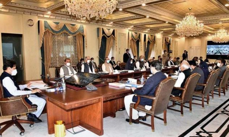 Prime Minister Imran Khan chairs meeting of the federal cabinet. — APP