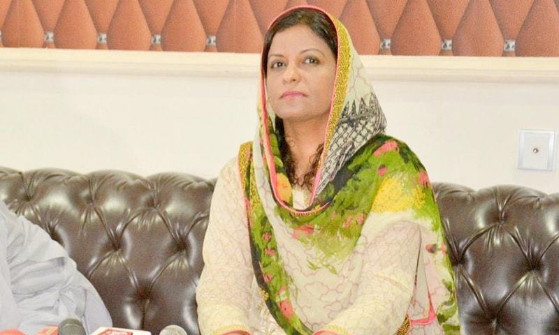 """Nafisa Shah says prime minister has contaminated the political environment by using """"container language"""". — Twitter/File"""
