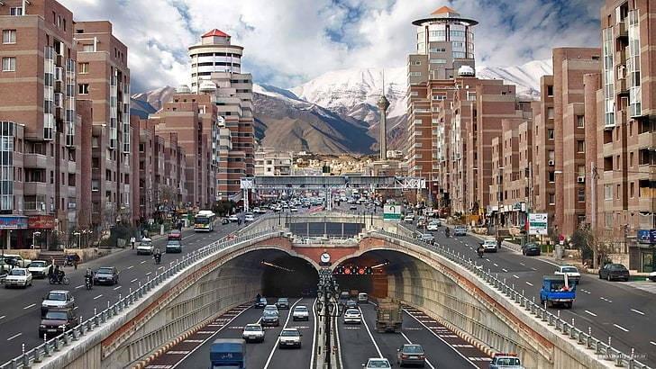 View of Tehran