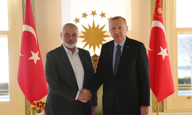 اسرائیل کا ترکی پر حماس کے اراکین کو پاسپورٹ دینے کا الزام