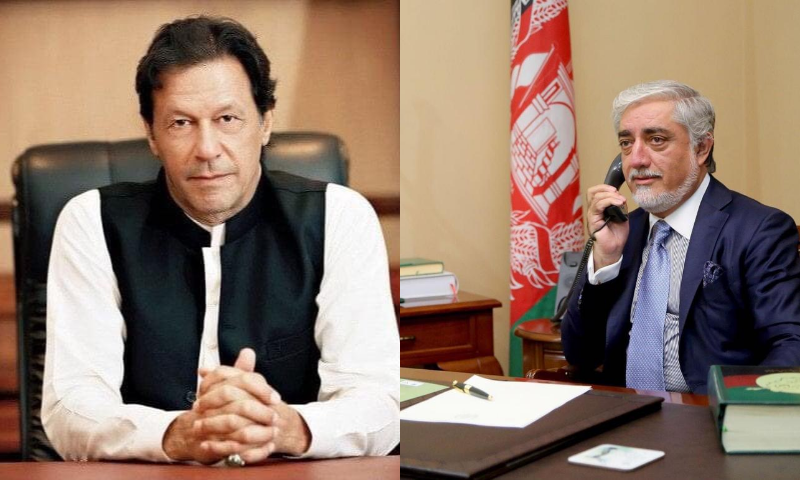While thanking  Khan for the invitation,  Abdullah said, he would visit Pakistan in near future. — PM Twitter/Abdullah Abdullah Twitter