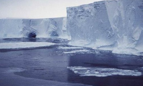 Ice shelves serve as dams to prevent much of the continent's snow and ice from flowing toward the ocean. — Reuters/File
