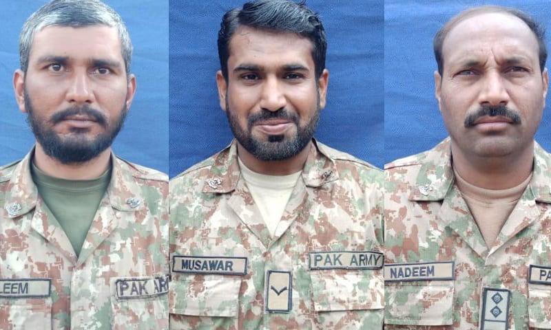 جنوبی وزیرستان: آپریشن کے دوران دہشت گردوں کی فائرنگ، پاک فوج کے 3 جوان شہید