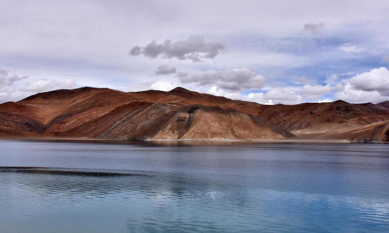 A view of Pangong Tso lake in Ladakh region, claimed by both India and China. — Reuters/File