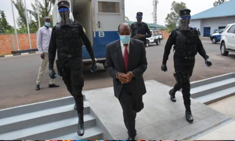 ان کی گرفتاری کے لیے بین الاقوامی وارنٹ جاری ہوا تھا— فوٹو:روانڈا انویسٹی گیشن بیورو