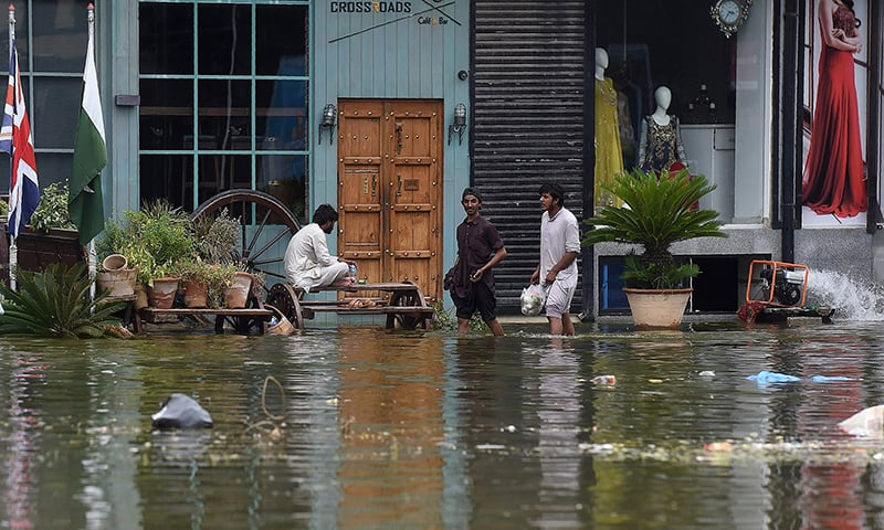 In pictures: Karachi still crying for help four days after rain disaster